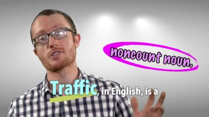 Everyday Grammar - Lesson 143: Noncount Nouns